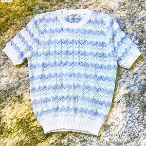 Vintage Alfred Dunner pastel sweater L
